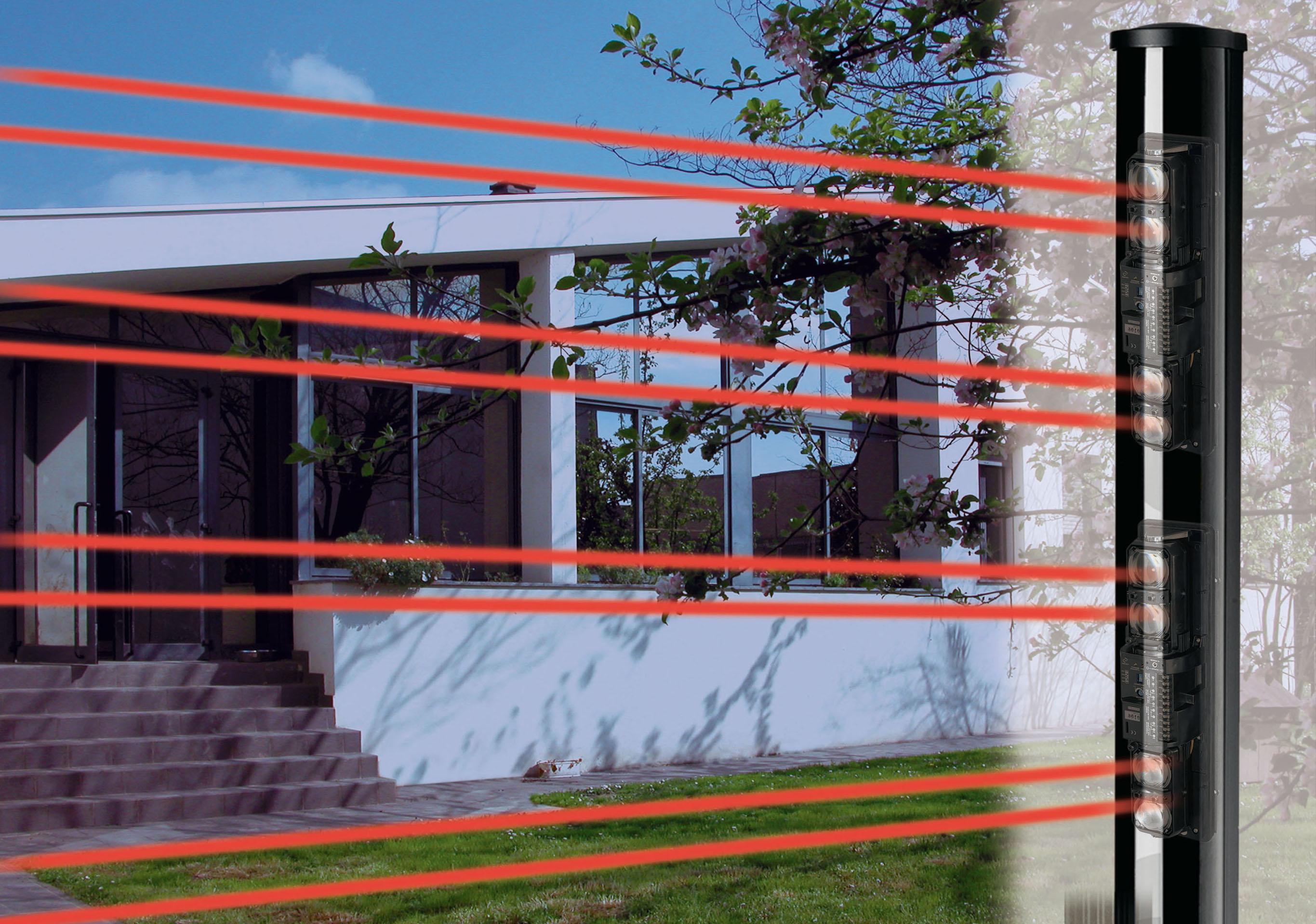 Antifurti dm elettronica srl - Barriere infrarossi per finestre ...